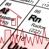 radon testing graphic